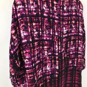 Anthropologie Dresses - Anthropologie Maeve Purple Pencil Palette Tunic
